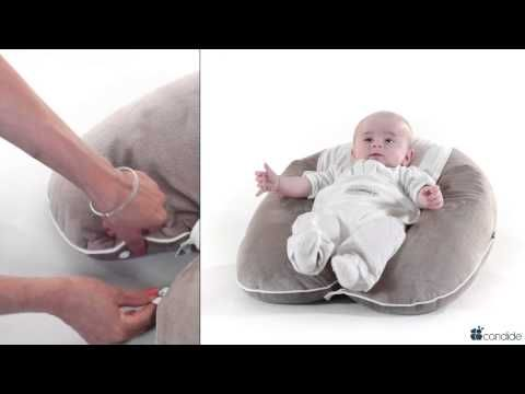 Candide : 3-in1 Multi-Relax+ : Multifunctional maternity cushion Pillow - YouTube