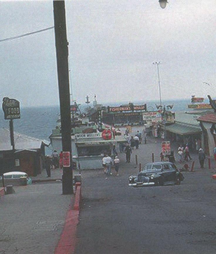 Redondo Beach Pier 1950u0027s Unknown Photographer 198