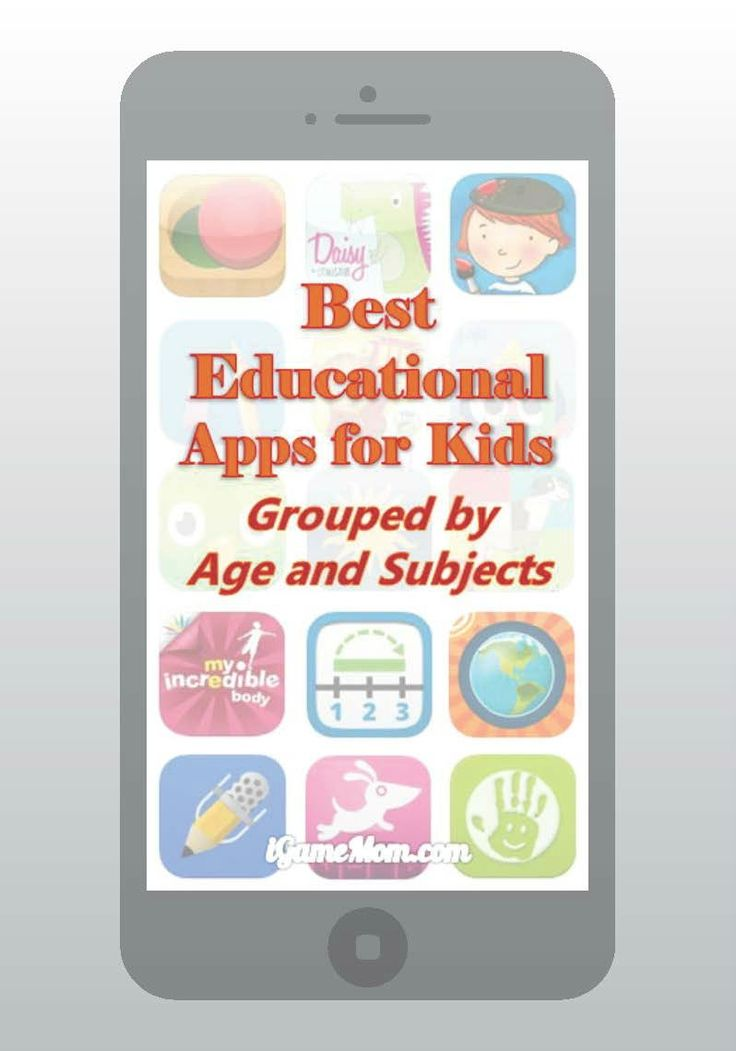 Interested in good educational apps you can download for your kids? Well look no further than this list of mom-approved apps for kids of all ages!