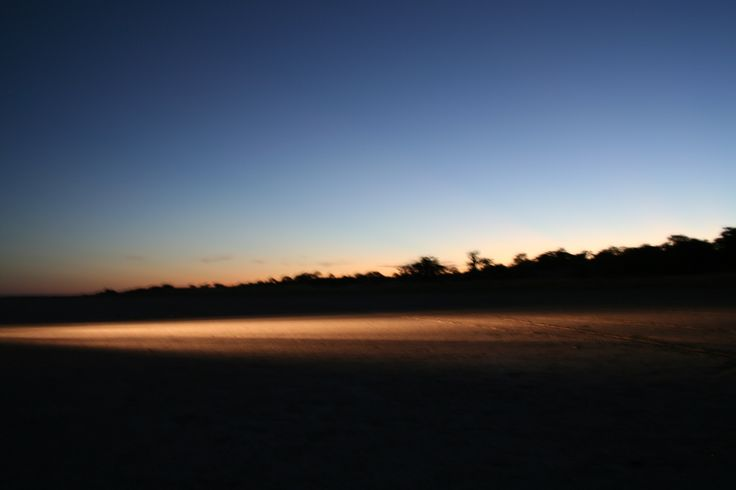 African skyline - Alu-Cab, Botswana