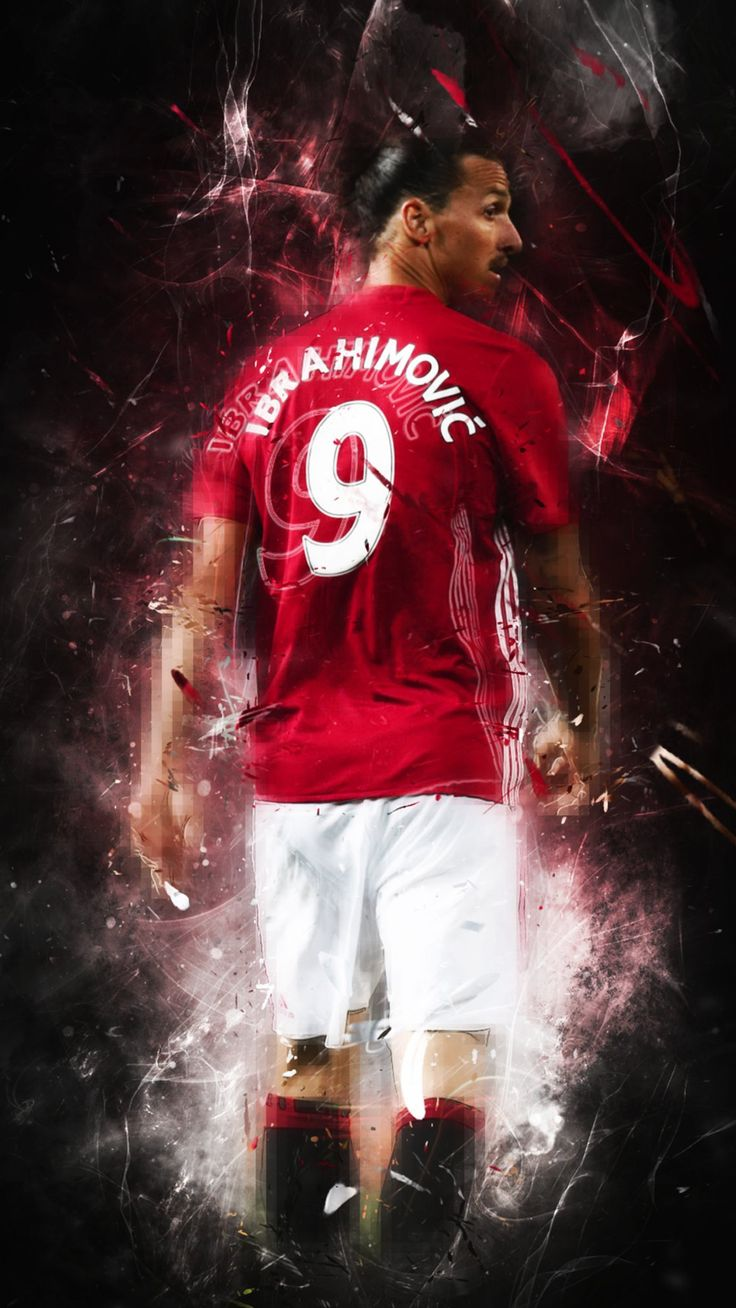 Ibrahimovic Manchester United PL Premier League 9 Red Devil 2016 2017 Europa League Adidas Football Soccer