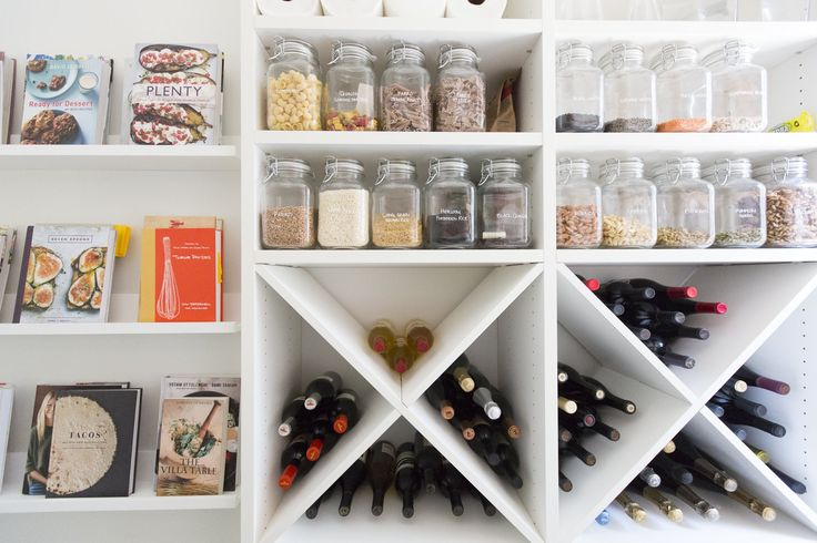 This Pantry Borrowed 4 Smart Ideas from Boutique Shops — Pantry to Pin
