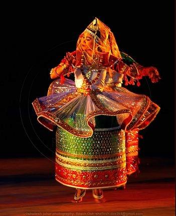 Manipuri dancer, Manipur, India