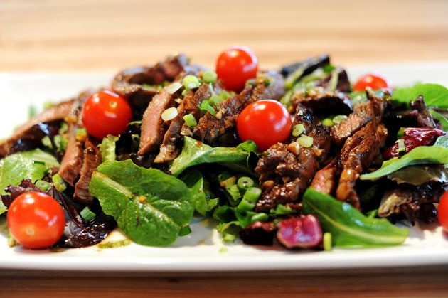 Pioneer Woman's ginger steak salad. This was AMAZING. Definitely on my ...