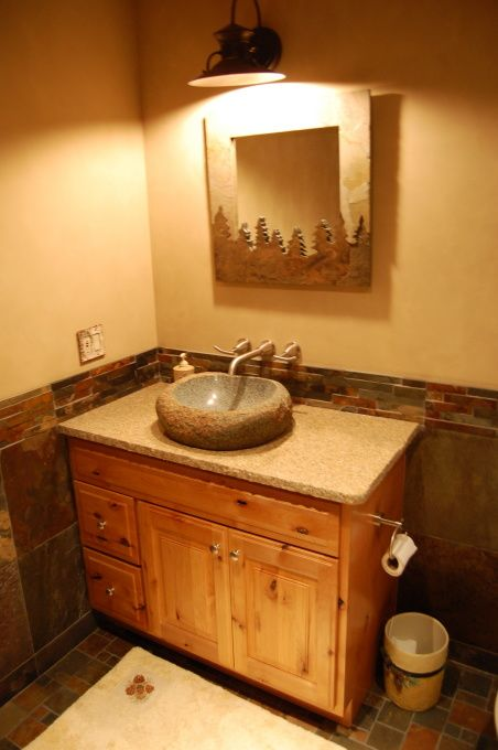 41 best basement possibilities images on pinterest for Finished bathroom ideas
