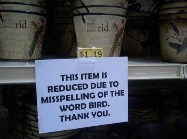 Unbelievable. | 10 More Funny Grammar And Spelling Mistakes