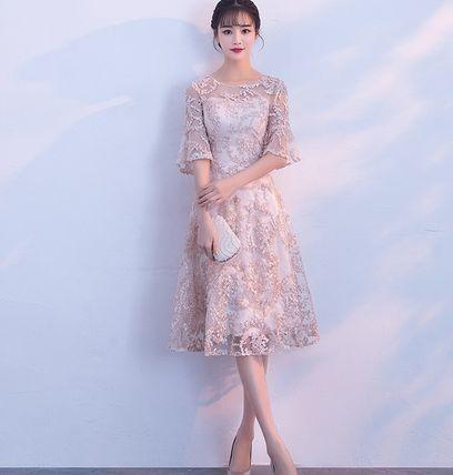 ワンピース ドレス お呼ばれ 結婚式 二次会  レース(33862098):商品名(商品ID):バイマは日本にいながら日本未入荷、海外限定モデルなど世界中の商品を購入できるソーシャルショッピングサイトです。充実した補償サービスもあるので、安心してお取引できます。