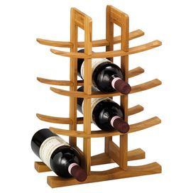 A beautiful addition to your tropical dining room, this sleek wine rack is crafted from bamboo. Pair with white rattan chairs and light green wine glasses to tie the look together.  Product: Wine rackConstruction Material: BambooColour: Natural Features: Holds 12 wine bottles Dimensions: 42 cm H x 29 cm W x 16 cm D Note: This product is wine rack only. Picture shows wine bottles for illustration purposes only.