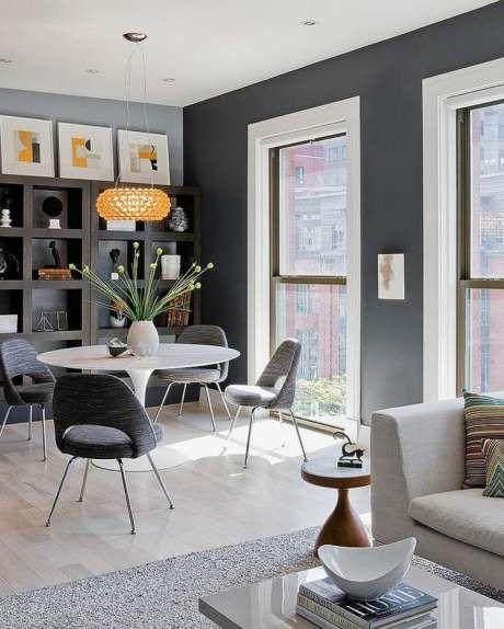 75 Grey Yellow Dining Room Ideas Dining Room Pinterest
