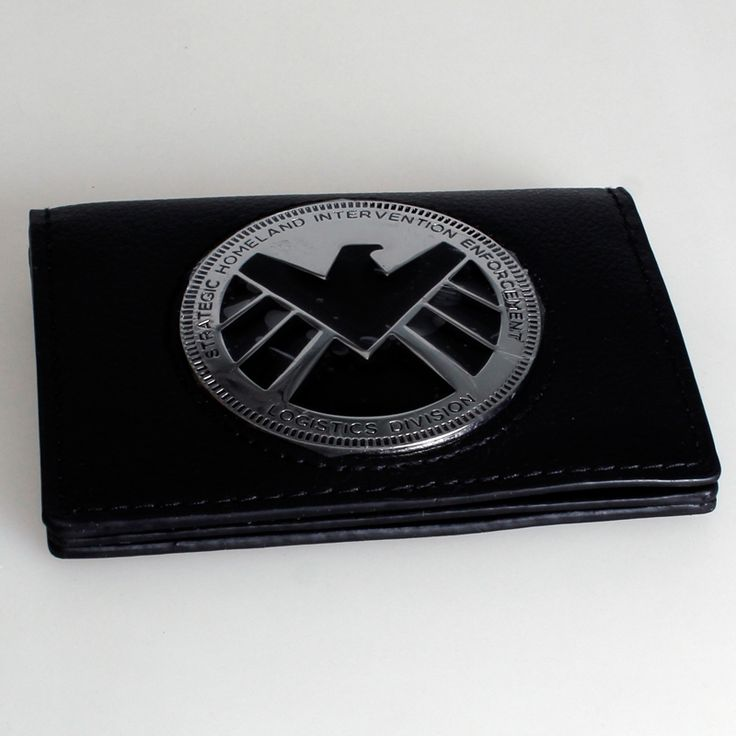 11.80$  Watch now - http://alieys.shopchina.info/1/go.php?t=32255392774 - Marvel  S.H.I.E.L.D. Phil Coulson Badge Wallet DFT-1270  #buychinaproducts