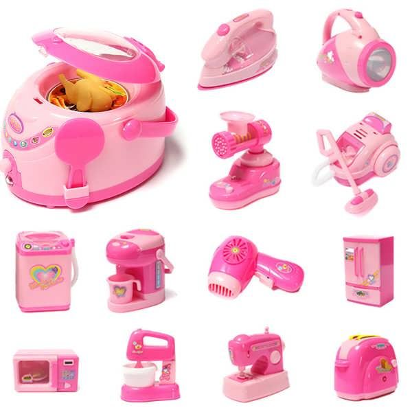 Child Mini Appliances Series Of Electric Development Educational Toys Features This series of products can let children enjoy the fun when play games with partners. Raise baby's awareness of things and develop baby's intelligence, while creating baby's...