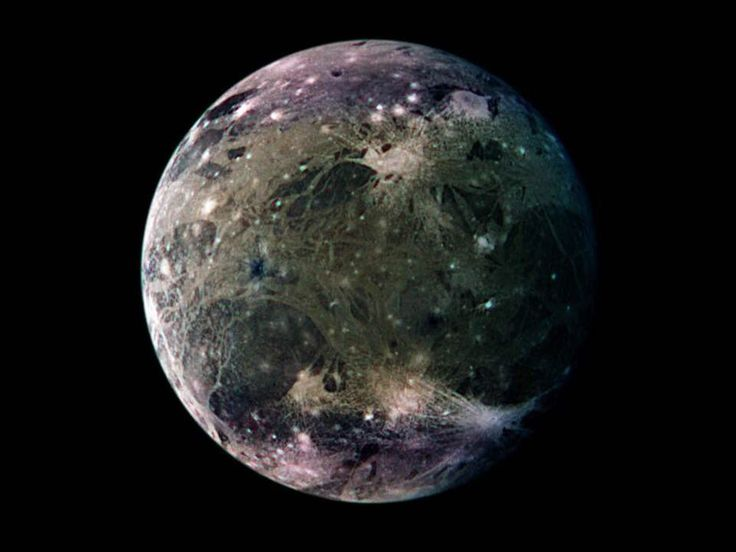 Ganymede (moon of Jupiter) is the largest moon in our solar system!