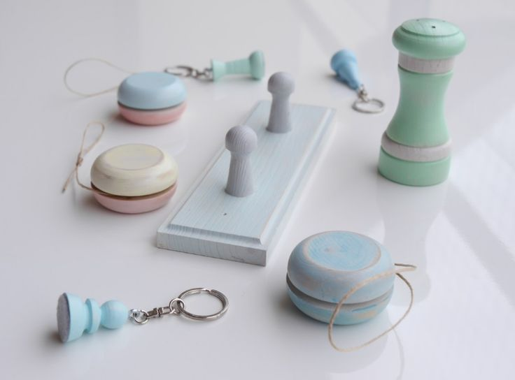 Pastel Collection of wood on LifeRePaint.com