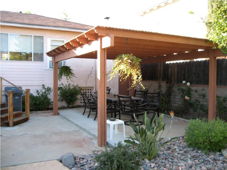 nice free standing carport designs #10: Patio Cover Designs Free Standing Facebook Twitter Google+ Pinterest  StumbleUponu2026