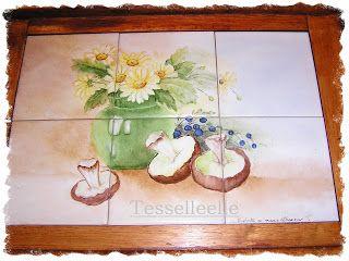 Di tutto un po'... bijoux, uncinetto, ricamo, maglia... ღ by tesselleelle ღ : Ceramica e porcellana....dipinta a mano