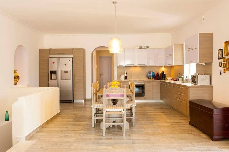 Fully equipped kitchen, right opposite living rooom A (open space)