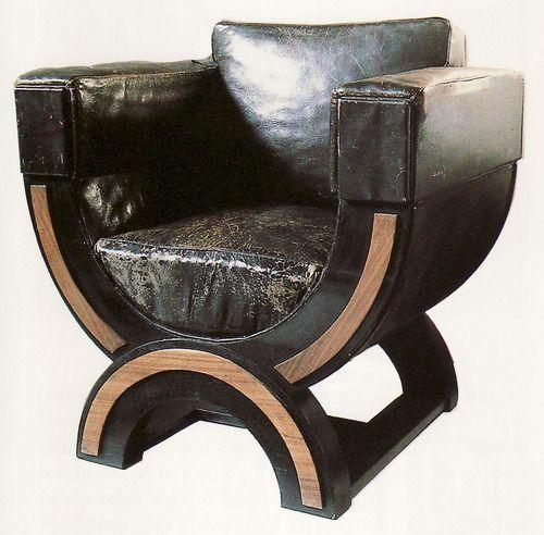 Czechoslovakia. Armchair, 1922 // Josef Gocar