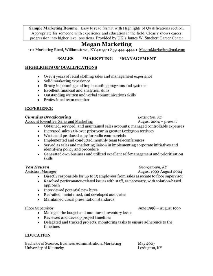 25+ Cover Letter Generator in 2020 Marketing resume