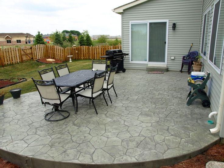 Best Concrete Patio Ideas DIY Choosing A Good Cement Patio Ideas Outdoor  Decorate