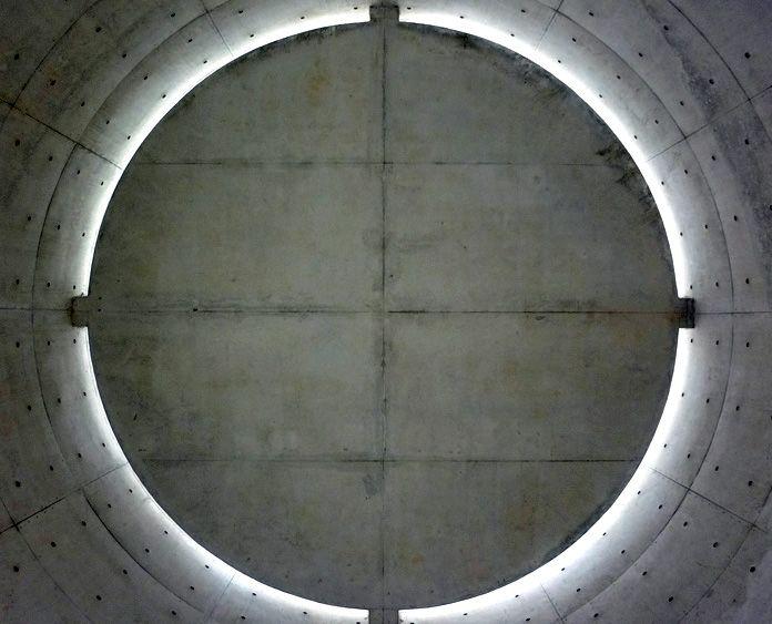 UNESCO- Paris, FR by Ando Tadao  <Plafond de l'espace de méditation>