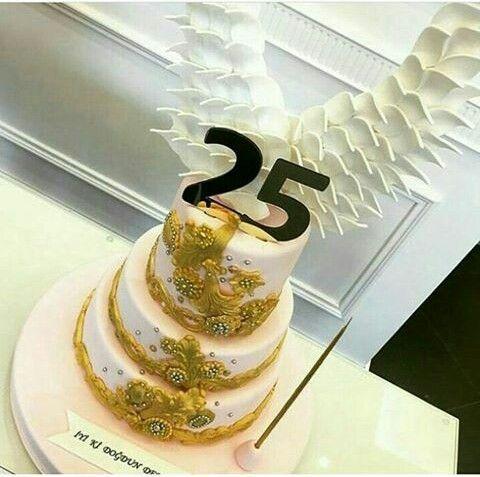 Demet özdemir'ın 25 doğum günü..25 pasta