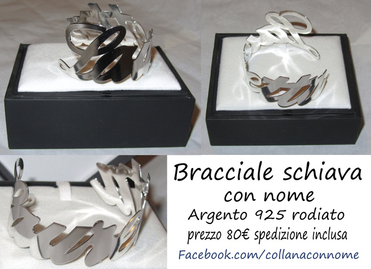 https://www.facebook.com/collanaconnome      collane con nome  argento 925 anallergico