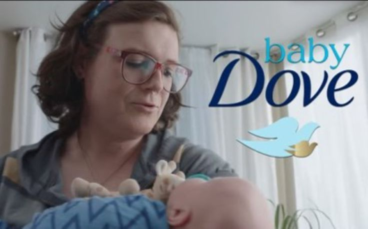 Please use the information we have provided through our website to contact Dove (owned by Unilever) concerning the man impersonating a mom in their recent Baby Dove ad.
