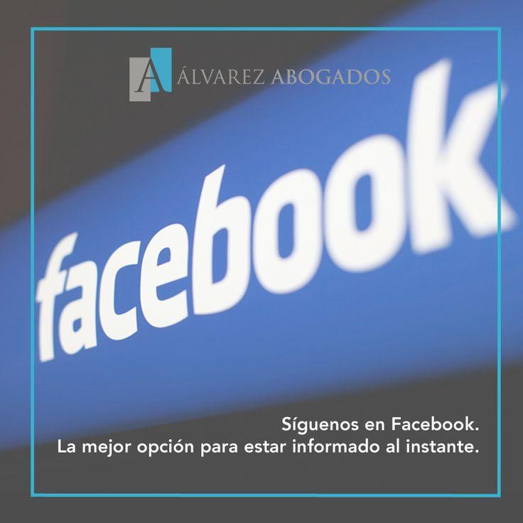 Síguenos en Facebook y sigue las últimas noticias jurídicas y novedades de Alvarez Abogados Tenerife. +INFO: http://fb.com/AlvarezAbogadosTenerife