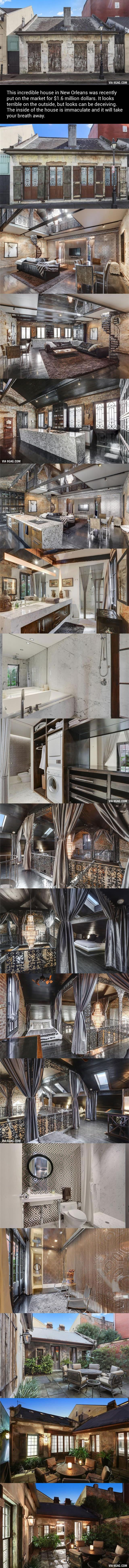 This 200-Year-Old House May Look Rough, But The Incredible Inside Is Worth $1.6 million - 9GAG
