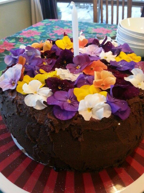 My birthday cake...:)