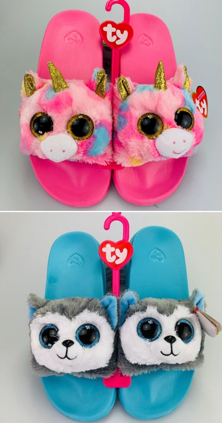 96fc5ccf53f New Beanie Boo Ty Slides Just Landed and We Can t Choose!