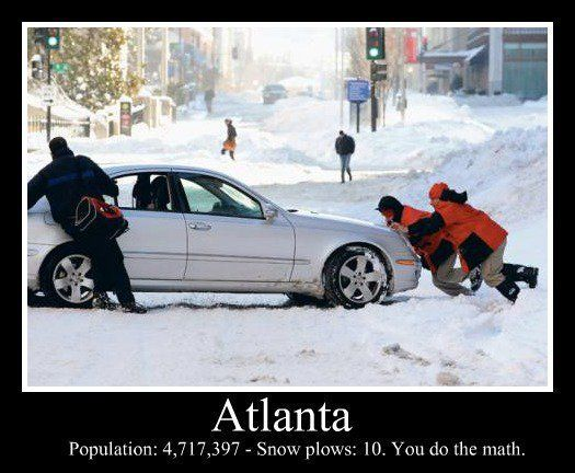 snow in atlanta photos   Snow in Atlanta (January 11, 2011)