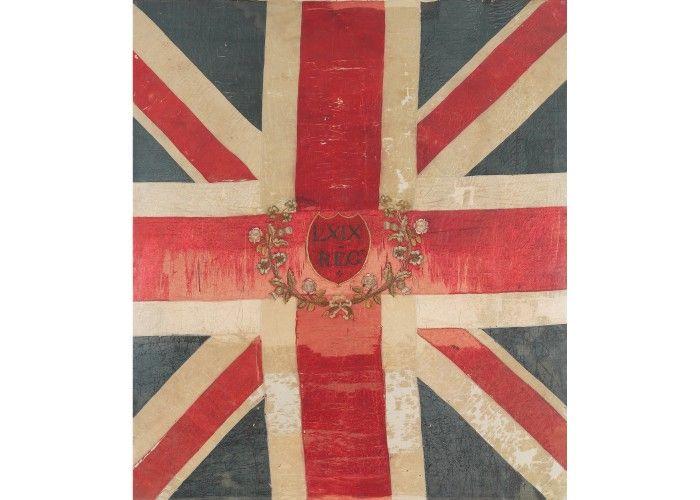 Waterloo 200 » Standard of the 69th Regiment of Foot