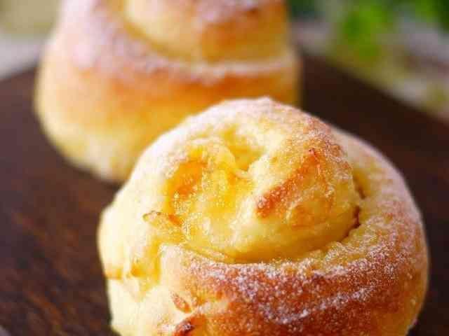 オレンジ*チーズ・クリームパン♪の画像