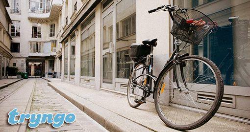 Vous voulez faire une balade, mais vous n'avez pas de #vélo.Tryngo a la solution pour vous!
