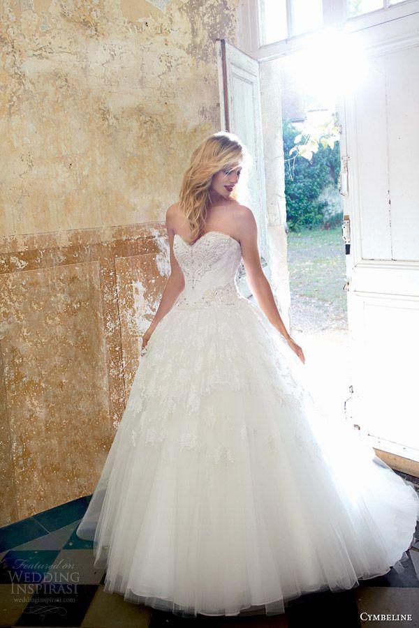 Cymbeline #Bridal 2015 #Wedding Dresses   Wedding Inspirasi #weddings #pretty #fairytale #ballgown #weddingdress #weddinggown