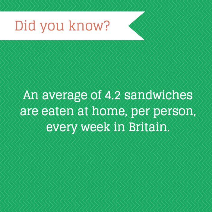 That's a whole lot of sandwiches…