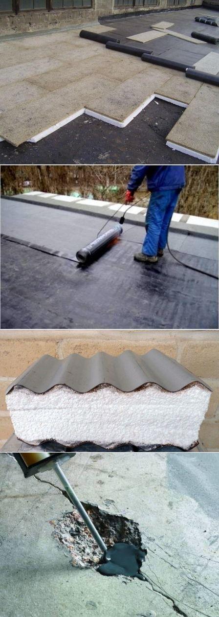 Утепление крыши дома, гаража, хозпостроек