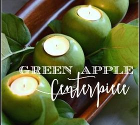 DIY Pallet ideas for Home: Green Apple Centerpiece