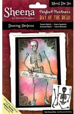 Sheena+Douglass+Perfect+Partner+Day+of+the+Dead+Dies+-+Dancing+Skeleton