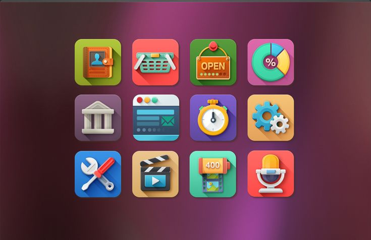 flat icons app - Google Search