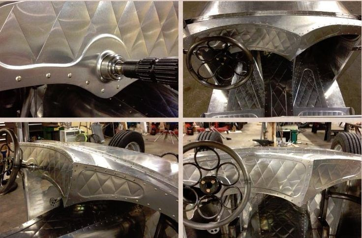 Hot Rod Sheet Metal Fabrication Promoted By The Fab