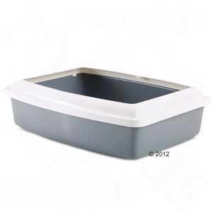 Litter Trays on Sale now at zooplus: Savic Cat Litter Tray with Protective Edge