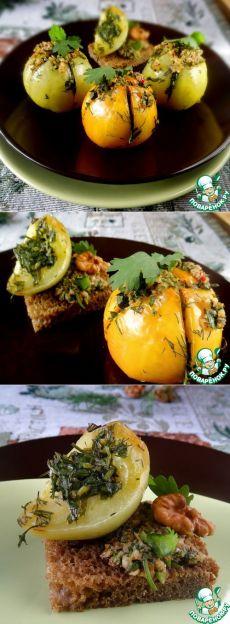 Запеченные зеленые помидоры - кулинарный рецепт