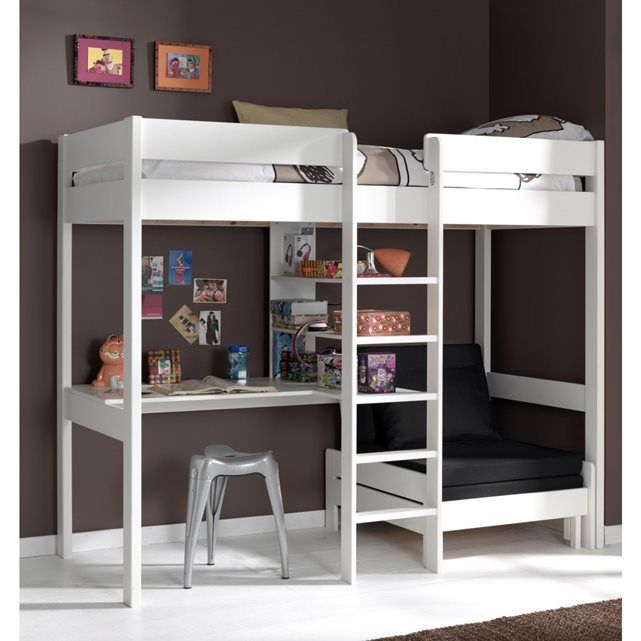 13 best images about lit mezzanine enfant on pinterest. Black Bedroom Furniture Sets. Home Design Ideas