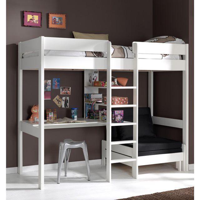 13 best images about lit mezzanine enfant on pinterest. Black Bedroom Furniture Sets. Home Design Ideas