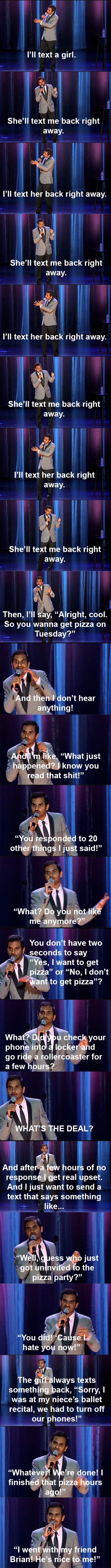 Probably my favorite stand-up comic ever