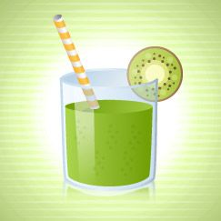 Type in fruit/veg you juiced and it converts it for you! Nutritional info for juicing...