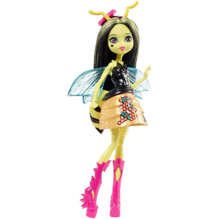 Check out the Monster High Garden Ghouls Winged Critters Beetrice Doll (FCV49) at the official Mattel Shop website. Explore the world of Monster High today!