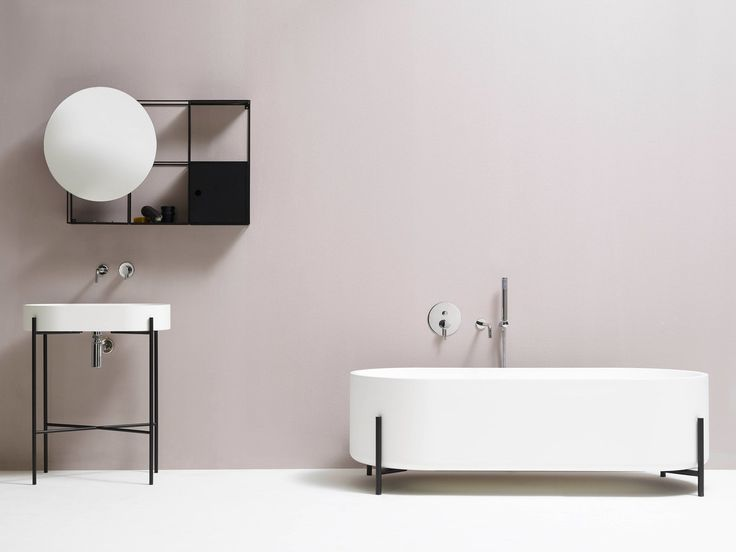 minimalist bathroom fixtures collection by ext